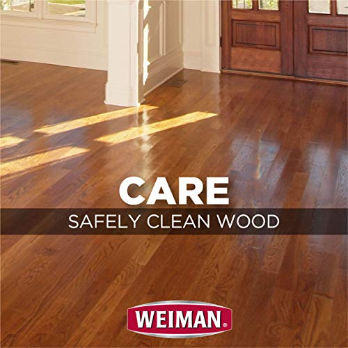 Weiman Wood Floor Cleaner [2 Pack] 32 Ounce - Hardwood Finished Oak Maple Cherry Birch Engineered and More - Professional Safe Steak-less by Weiman (Image #4)