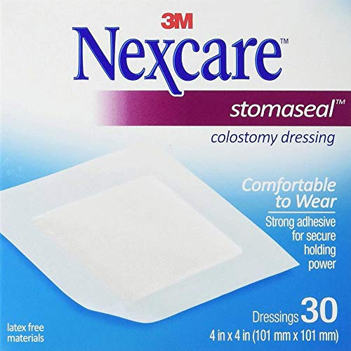 (Box Of 30 3M Nexcare Stomaseal Colostomy Dressing - Box Of 30)