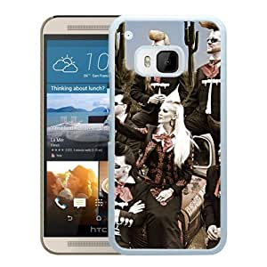 Beautiful Designed Cover Case With Leningrad Cowboys Image Hair Haircut Girl (2) For HTC ONE M9 Phone Case