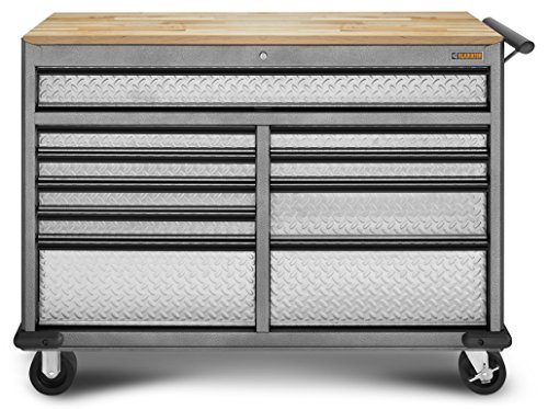 Gladiator GATR52RWBG Starter Series Rollaway Tool Chest with Rubberwood Worktop