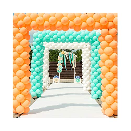 Yeele 9x9ft Wedding Photography Background Colorful Balloon Party Decoration Bouquet Archway Wedding Ceremony Paper Arches Photo Backdrop Shoot Vinyl Studio -