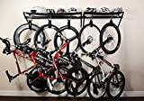 VeloGrip Home Storage 2-Bike Rack - Sx2 Black/Black
