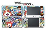 #2: Yo-kai Watch Blasters: Red Cat Corps White Dog Squad Video Game Vinyl Decal Skin Sticker Cover for Nintendo New 2DS XL System Console
