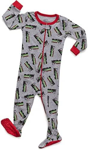 Leveret Baby Boys Footed Sleeper Pajama 100% Cotton (Size 6M-5 Years)