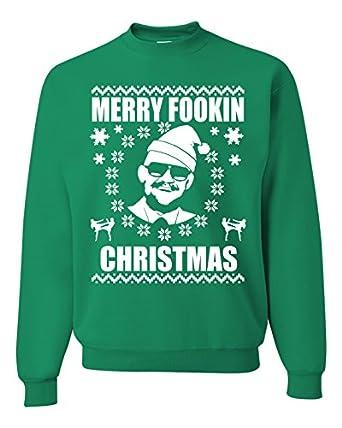 Merry Fookin Christmas - Conor Mcgregor Ugly Christmas Sweater ...