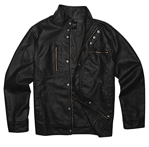 Leather Vintage Coat - 2