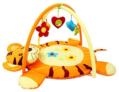 Coperta per gattonare con palestrina (a forma di tigre) toys
