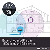 NETGEAR WiFi Range Extender EX5000 - Coverage up to 1500 sq.ft. and 25 devices