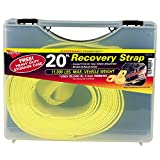 """Keeper 02932-SC 20' x 3"""" Vehicle Recovery Strap"""