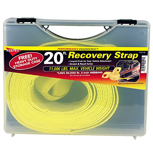 Keeper 02932 SC Vehicle Recovery Strap