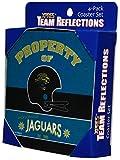 Jacksonville Jaguars Four Piece Team Expressions Foam Coaster Set