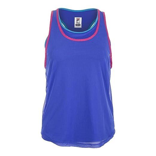 3d167f46ade77 Amazon.com  Fila Women s Sweetspot Layered Tennis Tank Top  Clothing