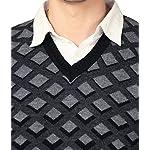 51UgEcykjKL. SS150  - aarbee Men's V-neck Long Sleeve Regular Fit Sweater