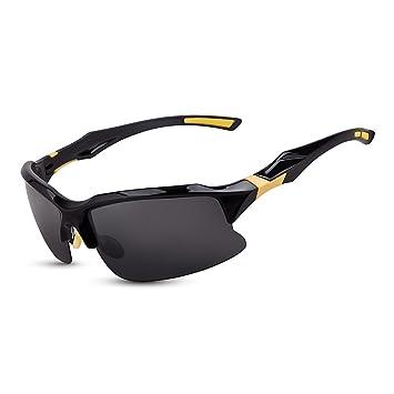 Lunettes de soleil polarisées sport pour cyclisme de pêche Golf Jaune jaune 54JrO9zQ6