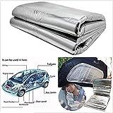 FidgetFidget Cotton Pad Turbo Exhaust Muff 1x1.4m DIY Car Hood Car Insulation Heat Shield Mat