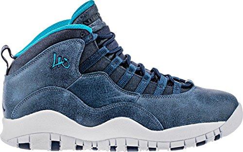 沈黙超えてセミナーナイキ(NIKE) Air Jordan 10 X Retro LA Los Angeles City Pack メンズ 310805-404 [並行輸入品]