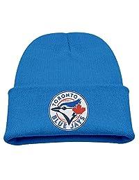 Toddler Infant Kids Toronto Blue Jays Logo Knit Beanies Cap