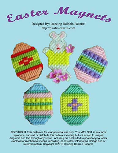 - Easter Magnet Set: Plastic Canvas Pattern