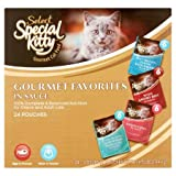 PACK OF 4 - Special Kitty Select Gourmet Variety Pack Wet Cat Food, 3 Oz, 24 Ct Larger Image