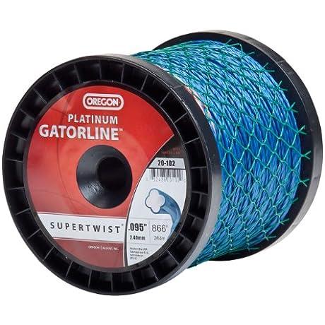 Oregon 20 102 Platinum Gatorline 3 Pound Spool String Trimmer Line 0 095 Inch Gauge