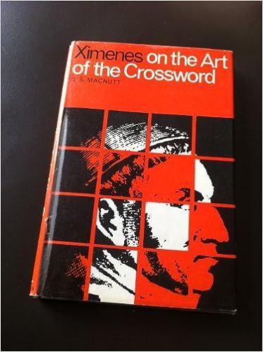 Ximenes On The Art Of The Crossword Amazon Co Uk Macnutt D S Aka Ximenes Books