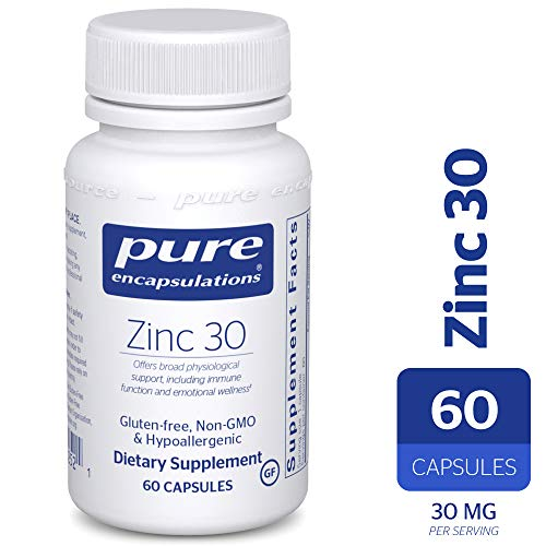 (Pure Encapsulations - Zinc 30 - Zinc Picolinate (30 mg.) Highly Absorbable Hypoallergenic Supplement for Immune Support* - 60 Capsules)