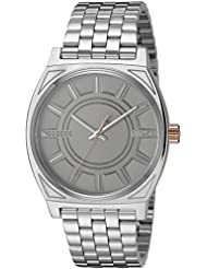 Nixon Mens Star Wars Phasma Quartz Stainless Steel Casual Watch, Color:Silver-Toned (Model: A045SW2445-00)