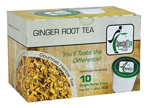 Price comparison product image Special Tea Single Serve Cup,  Ginger Root Herbal Tea,  10 Count