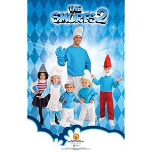 Rubie S Costume The Smurfs 2 Adult Deluxe Smurf Costume Funtober