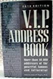 2010 V. I. P. Address Book, , 0938731556