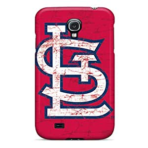 Defender Case For Galaxy S4, St. Louis Cardinals Pattern