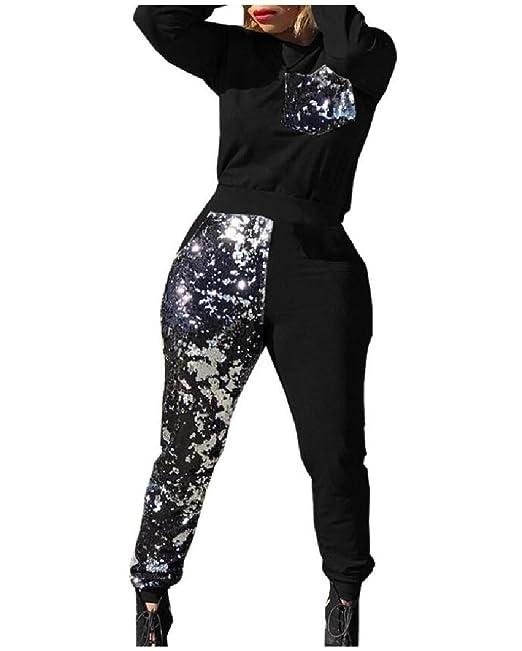 Amazon.com: Vska - Conjunto de traje de mujer con ...