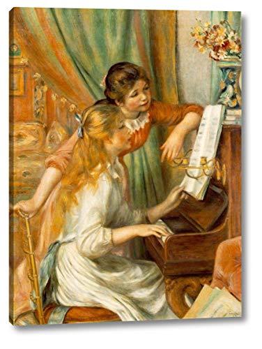 (Jeunes Filles au Piano Girls at The Piano by Pierre Auguste Renoir - 16