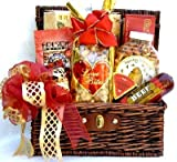 Meat and Cheese and Tasty Treats Gourmet Gift Basket | Men's Gift Idea