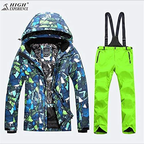Kunhan Hommes Veste Pour Suit Neige Outdoor Mountain Warm Homme De 2 Ski Winter Mans Pantalon Dames Vêtements Couleur BgqBSr