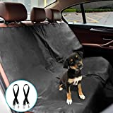 Car Pet Seat Cover Dog Car Hammock - Petbob Waterproof Car Bench Backseat Protection Cover - Portable Pet Barrier for Medium Cars Trucks SUV - Foldable Travel Mat for Camping (Thin)