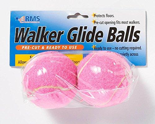 UPC 811188020182, RMS Walker Glide Balls - Pink
