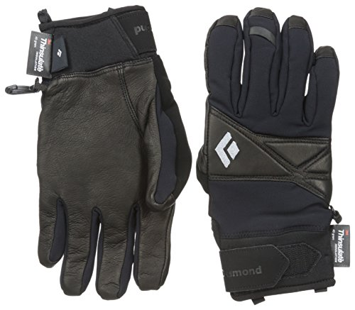 Black Diamond Terminator Cold Weather Gloves, Black, Small