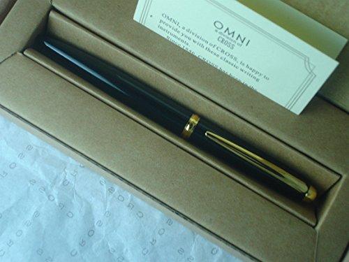 UPC 073228096995, Cross Omni Classic Black Lacquer and 23k Gold Pen