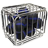 Heavy Duty Compact Portable Ball Cage - 32'' x 28'' x 24'' Size!