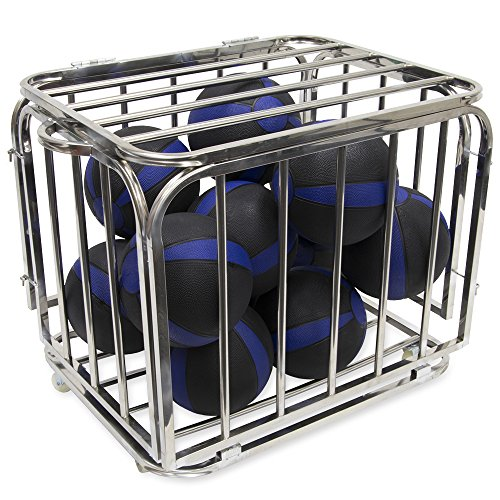 Heavy Duty Compact Portable Ball Cage - 32'' x 28'' x 24'' Size! by CSG