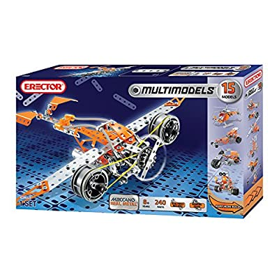 Meccano-Erector®, Multi Model 15 in 1 construction set - Item #6515