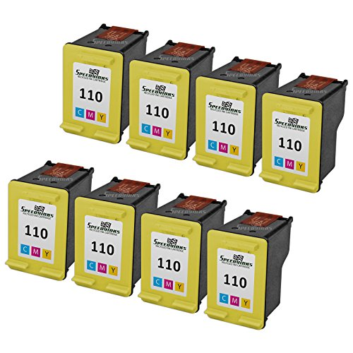 Speedy Inks - 8PK Remanufactured replacement for HP 110 C...