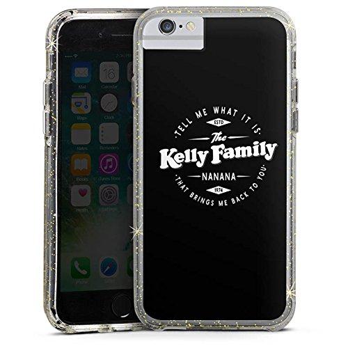 Apple iPhone 6 Bumper Hülle Bumper Case Glitzer Hülle The Kelly Family Nanana Merchandise Fanartikel