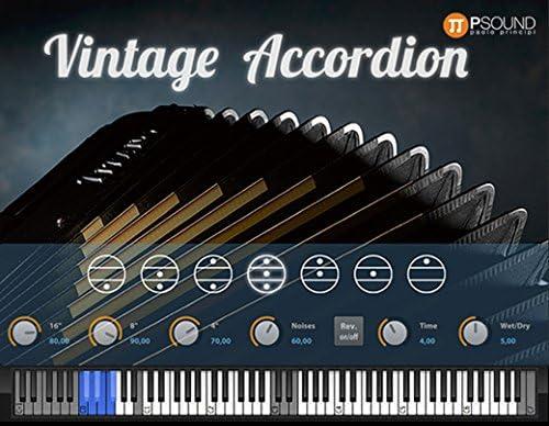 psound Vintage acordeón instrumento VST Software Virtual ...