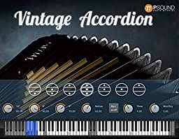 PSOUND Vintage Accordion Virtual Instrument VST Software (Electronic Delivery)