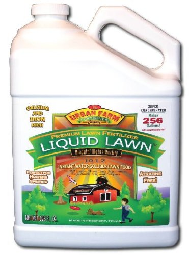 Urban Farm Fertilizers Liquid Lawn Fertilizer, 1 gallon, 13-1-2.