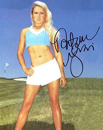 - Natalie Gulbis Signed Picture - 8x10 COLOR +COA SEXY GOLFER HOT+SEXY ABS - Autographed Golf Photos