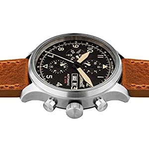 Ingersoll Men's Automatic Stainless Steel and Leather Casual Watch, Color:Brown (Model: I01902)