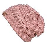 PK45_(US Seller)Winter Warm Hat Knit Beanie Hat